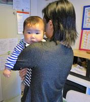 小児整体 赤ちゃん整体 生後7か月